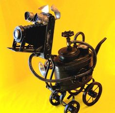 steampunk dog.