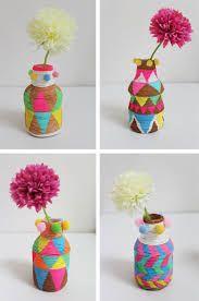 Resultado de imagem para vasos reciclados
