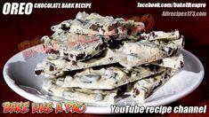 Cookies And Cream White Chocolate OREO Bark Tutorial White Chocolate Oreos, Oreo Bark, Best Pie, Best Food Ever, Cookies And Cream, Cream White, Pie Recipes, Food Videos, Food To Make