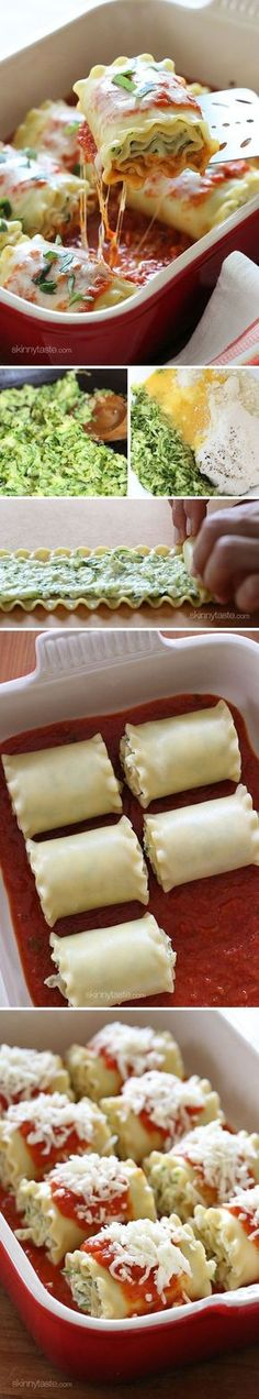 These 3-Cheese Zucchini Stuffed Lasagna Rolls are kid-friendly, freezer-friendly, and delicious!...