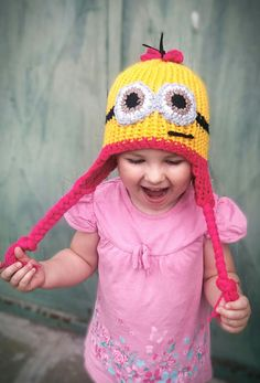 Hat Minion Minions, Hats, The Minions, Hat, Minions Love, Hipster Hat, Minion Stuff