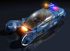Blade Runner directed by Ridley Scott. Deckard, a blade runner, has to track down and terminate 4 replicants who hijacked a ship in space . Blade Runner Spinner, Film Blade Runner, Concept Ships, Concept Art, Nave Lego, Thor, Star Wars Vehicles, Police Vehicles, Flying Car