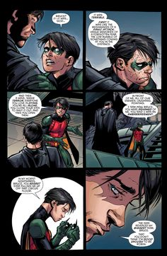 Batman & Robin - Eternal - October 2015 Dick your good enough to be Robin