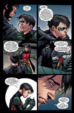 Batman & Robin - Eternal - October 2015 Dick you're good enough to be Robin 1/2