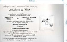 Andreea & Costi  32720 Nasa, Personalized Items