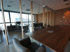 Sala de reuniones oficinas centrales SB Hotels. Decoración Alado