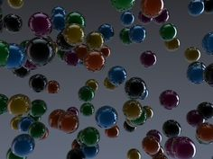Colorful spheres - Deviant Art