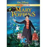 Mary Poppins starring Julie Andrews.  A favorite from my childhood.   Loved this movie, still do!