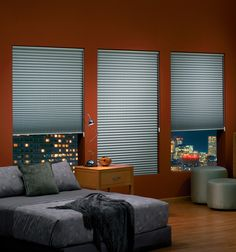 Graber EvenPleat Geneva shades feature the patented back ladder support which prevents sagging and uneven spacing of pleats. Diffused Light, Window Treatments, Blinds, Minimalism, Sweet Home, Shades, Curtains, Effort, House