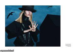 Suvi Koponen in 'Le Noir' - Photographed by Mert & Marcus (Vogue Paris September 2012)    Complete shoot after the click...