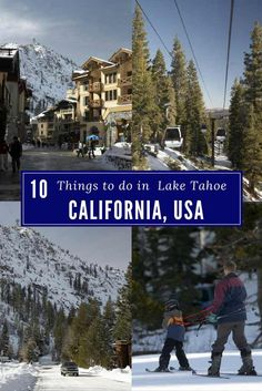 10 things to do in lake tahoe 10 things to do in Lake Tahoe