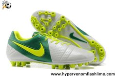 Buy Discount Jnr - White Volt Green Nike CTR360 Libretto III AG Football Shoes On Sale