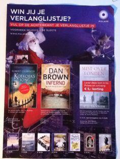 Deze flyer is echt gebaseerd op de goede boeken. Door de kerst achtergrond en de boeken op de voorgrond laat dit je echt boeien om te kopen, lekker een boek lezen met kerst kan snel de gedachte hierbij zijn.