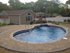 F&S Installation created this beautiful pool patio using Cambridge products.