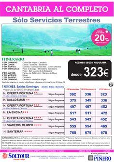 Cantabria al Completo (Sólo Servicios Terrestres) Septiembre y Octubre ultimo minuto - http://zocotours.com/cantabria-al-completo-solo-servicios-terrestres-septiembre-y-octubre-ultimo-minuto/