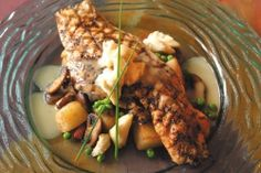 Grilled Redfish and Crabmeat with Lemon-Butter Sauce : Casual New Orleans Seafood Recipes : New Orleans Recipes : Red Fish Grill Restaurant