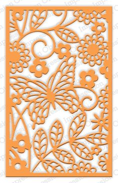 Impression Obsession - Die - Butterfly Block,$21.99