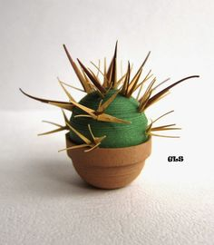 Quilled cactus