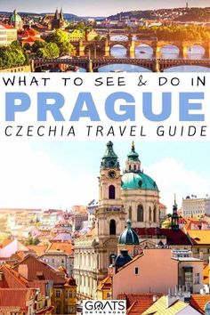 Exploring a hillside castle, cruising along the Vlatva River, drinking cheap beer, and more. There are endless things to do in Prague. Europe Travel Tips, Travel Advice, Travel Guides, Travel Destinations, Travel Goals, Time Travel, Prague Castle, Prague City, Visit Prague
