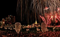 Coeur d'Alene, IDAHO - WINTER FUN -  a wonderland at Coeur d'Alene. Challenge Idaho's legendary Rocky Mountain powder at Silver Mountain or Schweitzer Ski Areas. The Holiday Light Show is an experience the entire family will enjoy with animated displays and more than a million twinkling lights to bring holiday cheer!