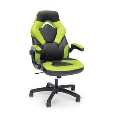 online shopping for OFM Essentials Collection Racing Style Bonded Leather Gaming Chair, Green from top store. See new offer for OFM Essentials Collection Racing Style Bonded Leather Gaming Chair, Green Office Gaming Chair, Cool Office Desk, Black Office Chair, Office Chairs, Desk Chairs, Gaming Computer, Bar Chairs, Gamer Chair, Dining Chairs