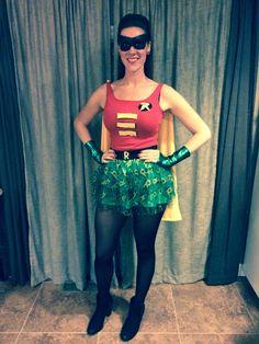 Robin Halloween Costume DIY