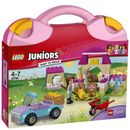 Lego Juniors: Mias Farm Suitcase (10746) 10746 It™s feeding time down at the animal farm!Load the food onto the back of the pickup and drive with Mia to the farm. Use the wheelbarrow to bring the bales of hay to the stable, then feed the little la http://www.MightGet.com/january-2017-11/lego-juniors-mias-farm-suitcase-10746-10746.asp