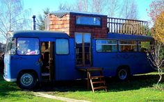 Bedford Bus via Rolling Homes book