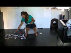 ▶ [ UITLEG ] Hoe knoop je zelf een touwhalster ? - YouTube