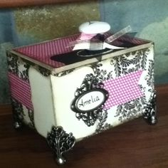 DIY cigar box repurposed