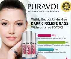 Puravol Skin Care Review - Despite what the majority of people think, serious dark area under your eye... #Puravol is an advance #anti-aging skin care serum which is a quick and powerful soaking up. This is certainly created to assist maintain their fresh appearance