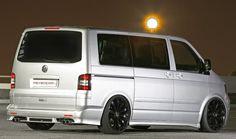 Volkswagen T5 Transporter dubbed MR Car Design VW T5 HAWAII Deluxe