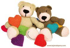 ositos crochet - teddy bear
