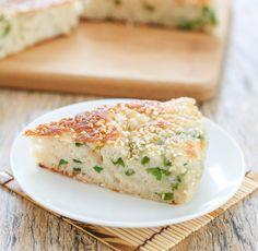 Chinês Pão do sésamo com Scallions | ânsias de Kirbie | A San Diego food & blog de viagem