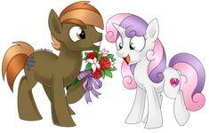 Button Mash and Sweetie Belle by Scarlet-Spectrum.deviantart.com on @DeviantArt