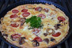The Recipe Suitcase: Savoury Wednesday: Quiche mit Kirschtomaten, Fenchel und Feta