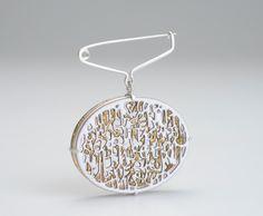 Jessica Turrell - enamel brooch