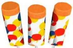 vintage orange push up ice cream-always got these from the ice cream truck