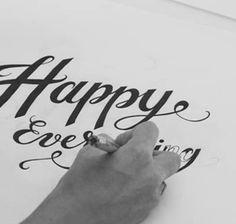 Hand Lettering by Joanna Reynolds | Sugar Paper for goop.com