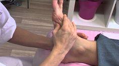 Masáž plosky nohy