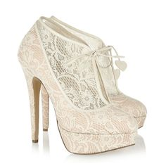 Love lace wedding shoes! http://graceormonde.com/wp-content/uploads/2012/07/charlotte-olympia-bootie.jpg