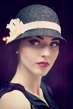 Idda van Munster: THE WOMAN IN THE CLOCHE HAT by Arwen Photography