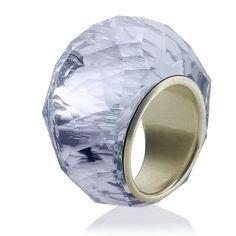 Swarovski Nirvana Petite Ring ($160) ❤ liked on Polyvore