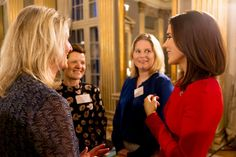Crown Princess Mary holds Christmas reception for Mary Foundation cooperation partners at Frederik VIII's Palace, Amalienborg