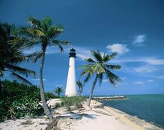 Key Biscayne, Florida   We walked to the lighthouse every night.