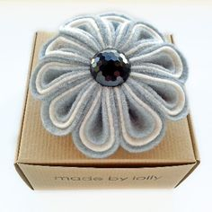 Felt Flower Corsage  - Gift Boxed and Wrapped before dispatch. Was £20 Now £8 #SALE #FinalClearance