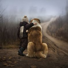 Little Kids And Their Big Dogs Volume GreatDaneChronicles - Tiny children and their huge dogs photographed in adorable portraits by andy seliverstoff