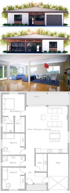Container Homes Plans - Container House - Small House Plan - Who Else Wants Simple Step-By-Step Plans To Design And Build A Container Home From Scratch? Who Else Wants Simple Step-By-Step Plans To Design And Build A Container Home From Scratch? New House Plans, Dream House Plans, Modern House Plans, Small House Plans, House Floor Plans, Building A Container Home, Container House Plans, Container Homes, Sims House