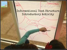 Informational Text Structures introductory activity! Blog Post