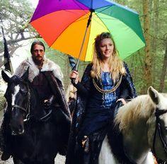 On the set of #vikings season 4.
